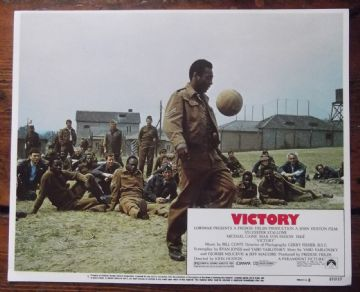 Escape to Victory, Original Lobby Card #1, Pele, 1981